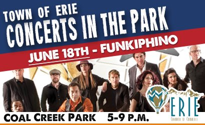 Concert in the Park - June 18 - Funkiphino