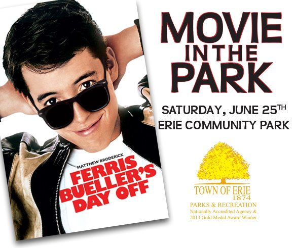 Movie in the Park - June 25