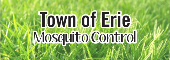 Town of Erie Summer 2016 Mosquito Control