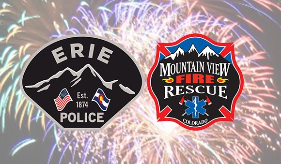 Erie Police and MVFR Logos