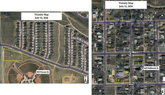 Parking Lot Vicinity Maps