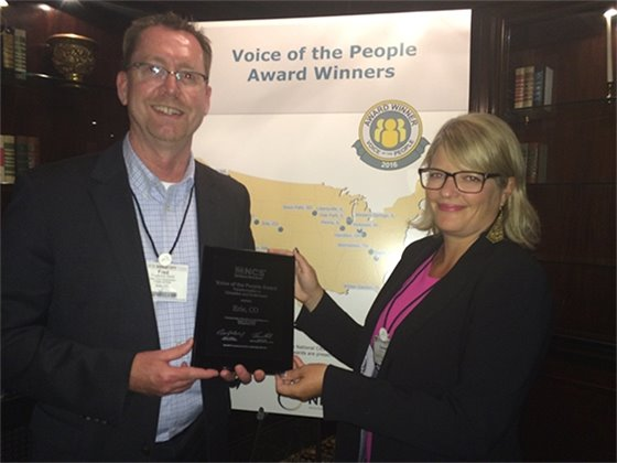 Town of Erie Wins Voice of the People Award