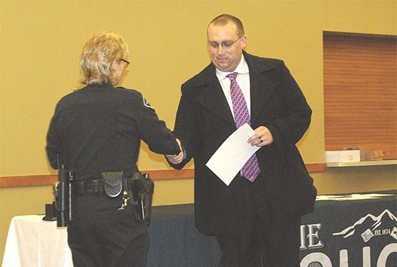 Picture: Police Department Awards Ceremony