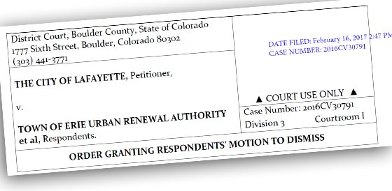 ORDER GRANTING RESPONDENTS' MOTION TO DISMISS