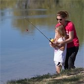 Picture: Mom & Daughter Fishing