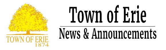 Town of Erie News & Announcements