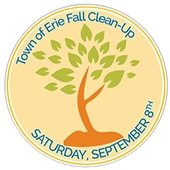 Town of Erie Fall Clean-Up Logo