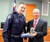 Officer Kevin Rogan receives Star Award