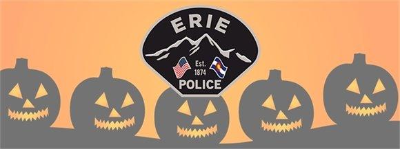 Police Department Halloween Safe Stop