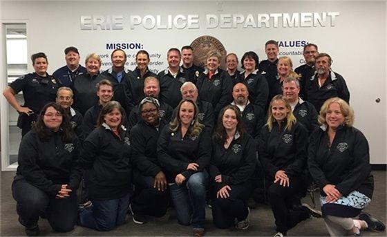2016 Citizens' Police Academy Graduates