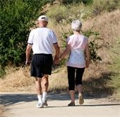 Image: Couple Walking
