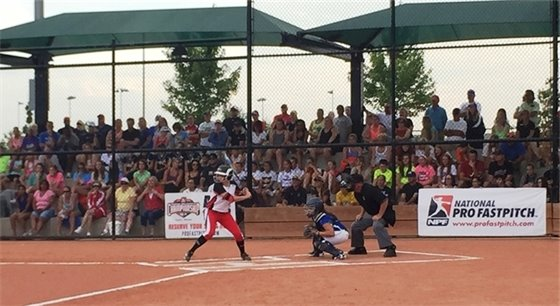 National Pro Fastpitch Game in Erie