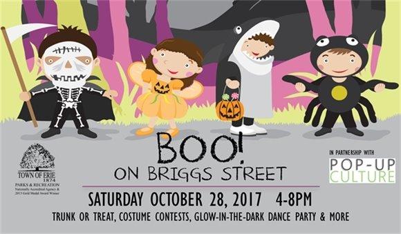 Boo! On Briggs Street
