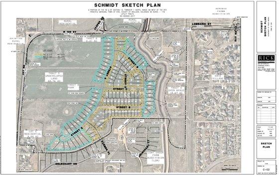 Schmidt Property Sketch Plan