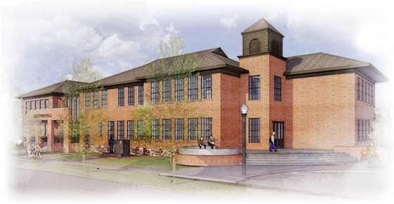 Town Hall Expansion Rendering