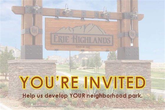 Erie Highlands Park Open House