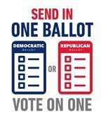 send in one ballot