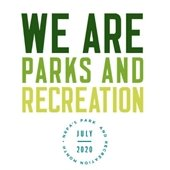 National Parks and Recreation Month logo