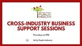 Cross Industry Business Support Sessions