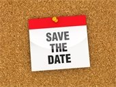 save the date text