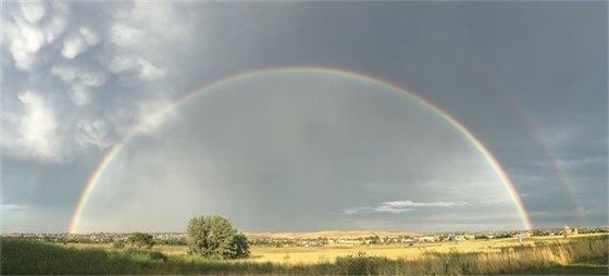 Rainbow over Four Corners