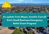 Video by Mayor Jennifer Carroll on Small Business Grant Program