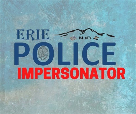 Suspected Police Impersonator graphic