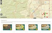 Maps and Apps webpage