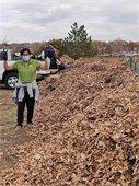 Leaf Composting Volunteer