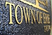 Town of Erie emblem