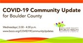 Public Health Weekly Update Boulder County Public Health