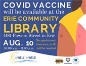 COVID Vaccine Clinic at Library