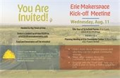 Erie Makerspace Kick-off Meeting