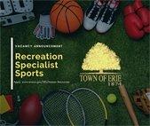Recreation Specialist Sports