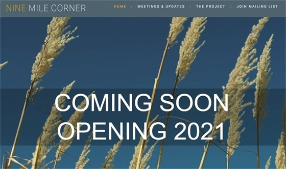 nine mile corner webpage image