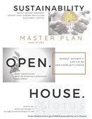 Sustainability Master Plan Open House