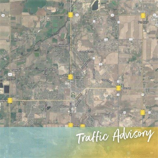 Traffic Advisory - Shouldering
