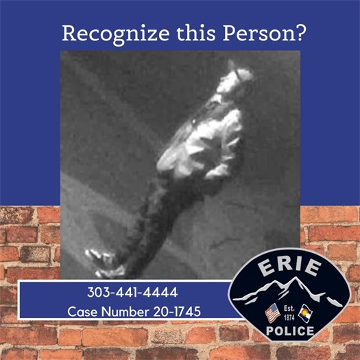 Do You Recognize this Person?