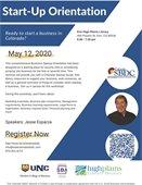 Startup Orientation Flyer