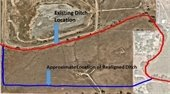 ditch relocation map