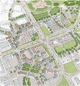 Town Center Illustration
