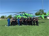 Erie PD Helicopter Training