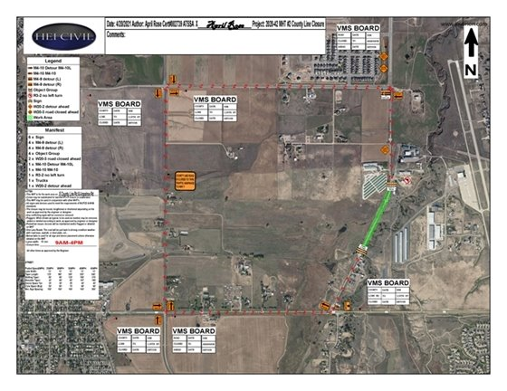 Traffic Advisory: County Line Road Hwy  7 - Arapahoe Road