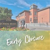 Early Closure Sept. 8