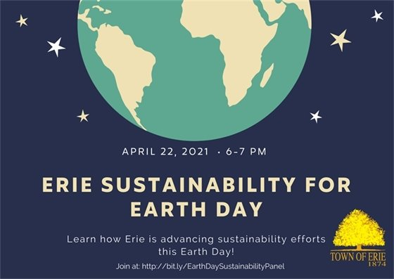 Erie Sustainability for Earth Day