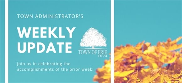 Town Administrator's Weekly Update