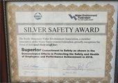 Silver Safety Award