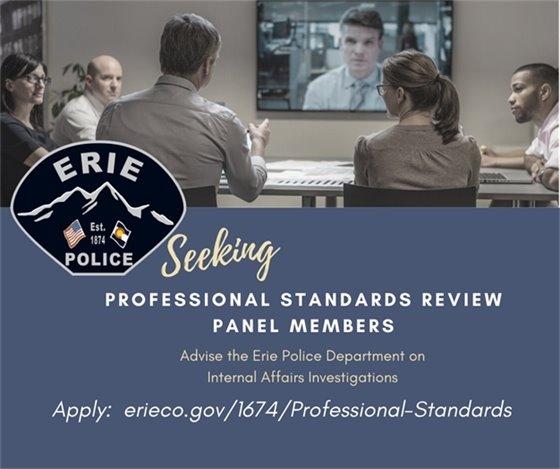 Seeking Professional Standards Review Panel Members