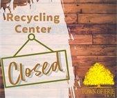 Recycling Center Closure