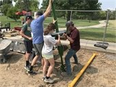 Community Build at Country Fields Park